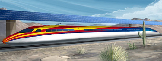 sustainable design, solar bullet train, green design, alternative transportation, renewable energy, solar powered train, high speed rail