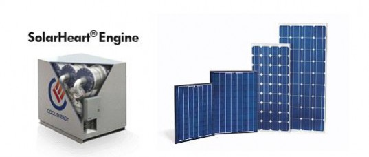 sustainable design, green design, energy, Cool Energy, SolarHeart Solar, Waste Heat Powered Engine, stirling engine