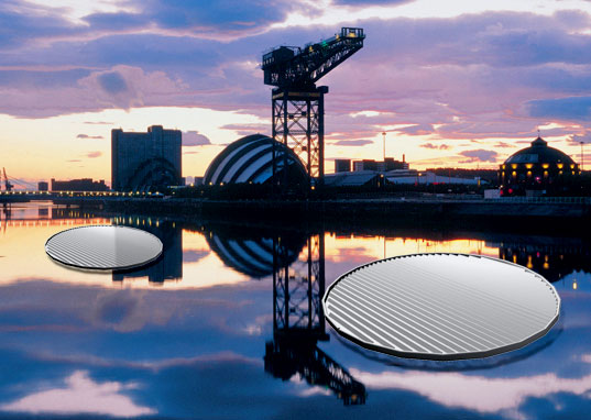 SOLAR LILY PADS Planned for Glasgow's Clyde River, Glasgow Solar Lily Pads, Floating Solar panels, Clyde River Solar, Lily Pad Solar, Zm Architecture, Peter Richardson, Solar power, solar energy, renewable energy, photovoltaic