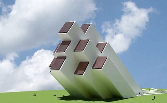 sun rays pavilion, solar pavilion, michael jantzen, renewable energy, solar power, architecture