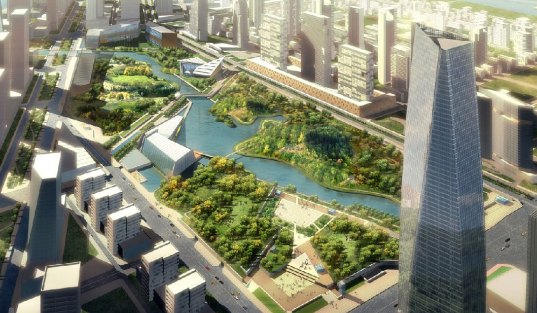 songdo ibd, songdo, south korea, eco city, eco-city, master plan, sustainable city, open space, central park, city planning, urban planning, urban development, international development, open space planning, open space design, transit-oriented development