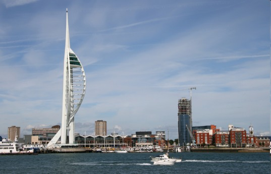 spinaker tower, uk, micro-generators, stair power, people power, foot power, heel-strike generators, piezoelectric materials, kinetic energy, kinetic electricity