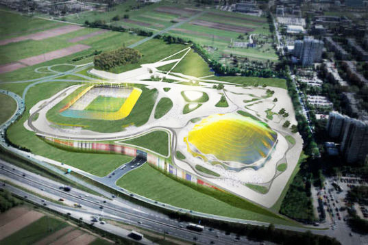 sustainable design, green design, green architecture, parks, public space, sadar vuga architects sports park stozice slovenia