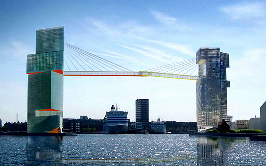 Steven Holl, Gateway to Copenhagen, Sustainable Building, LM Project Competition, Wind Turbines, Photovoltaics