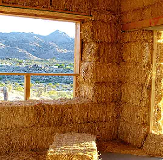 Sacred Sands Resort Joshua Tree California eco-travel straw bale construction green building desert architecture