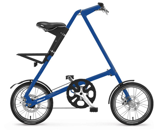 Collapsible STRiDA Bike, folding bike, foldup bike, mark sanders, mas bike, mas strida bike, mark sanders strida bike, mini-bike, urban bike, cool bike