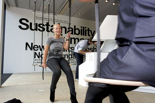 sustainable design, green design, copenhagen design week, its a small world, danish design, products, furniture, swingtime
