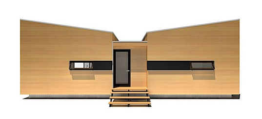 sustain minihomes, prefab architecture, prefab housing, green building, sustainable building, affordable housing, dwell on design 2009, eco home, eco residence, green home, green residence, prefab design