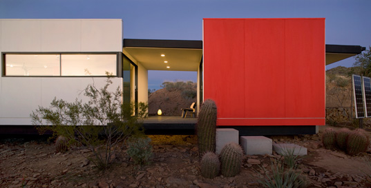Jennifer Siegal, Office of Mobile Design. PrairieMod, PreFab Modern, Sustainable Building, Taliesin West, school of frank lloyd wright, modfab prefab, prefab housing, prefab design, green design, prefabricated architecture, prefab architecture, green architecture