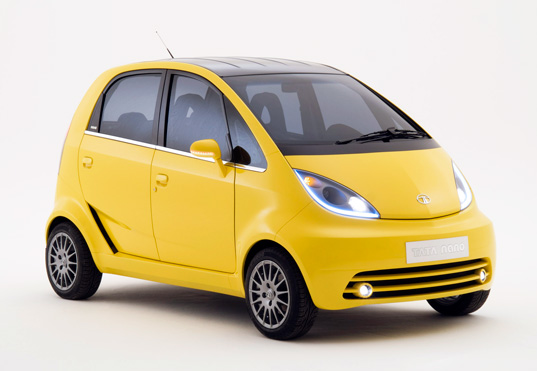 sustainable design, green design, hybrid vehicle, green transportation, tata nano, nano, ev, phev