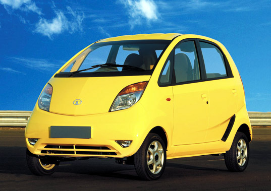 sustainable design, green design, hybrid vehicle, green transportation, tata nano, phev, ev, india