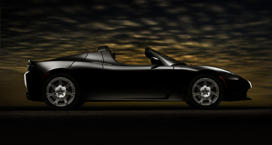 Tesla Roadster Car Photos