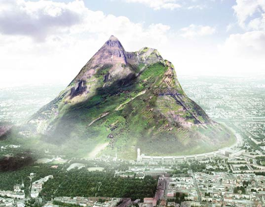 The Berg, the berg, jacob tigges, berlin, tempelhof, giant mountain, faux mountain