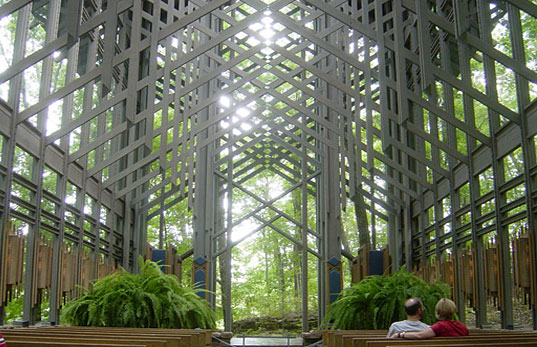 THORNCROWN CHAPEL - A paragon of environmental design, thorncrown chapel, arkansas, eureka springs, american institute of architects, sustainable building, sustainable design, national register of historic places, ecological architecture, environmental architecture