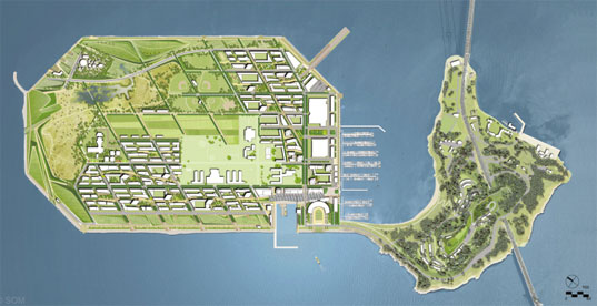 Treasure Island, Green, San Francisco, Organic Farming, wind farm, tidal marshes