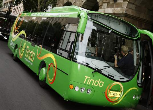 Tindo, Solar bus, solar car, solar transportation, green public transit, solar-powered bus, solar buses