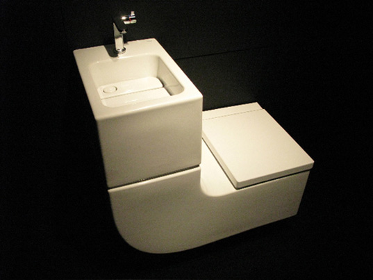 sustainable design, green design, roca, washbasin + watercloset, w+w, water, greywater recycling system