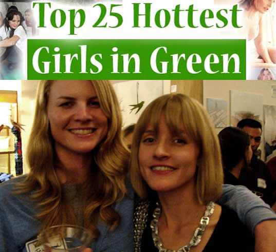 Inhabitat, Jill Fehrenbacher, Katie Fehrenbacher, Fehrenbacher sisters, eco sisters, green sisters, sustainability sisters, Top 25 hottest girls in green, top 25 hottest girls of green, earthfirst