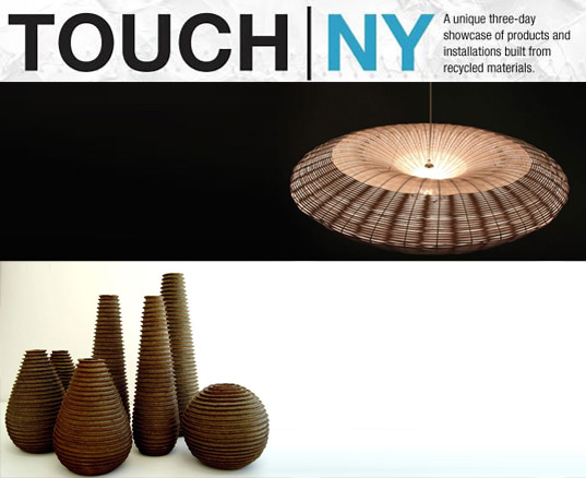 TOUCH | NY: Sustainable Design, Touch NYC, Brazilian design, recycled design, reclaimed design, reclaiming design, green design exhibition, sustainable design, eco design, NY Design Week 2008, ICFF 2008, Furniture Fair 2008, New York Design Week, sustainable design exhibition
