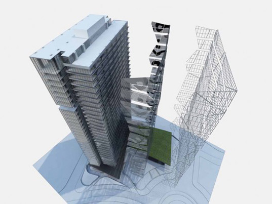 EEfizia Tower, SPACE Architects + Planners, sustainable architecture, recyclable materials, green building, Mexico City, green roofs Juan Carlos Baumgartner