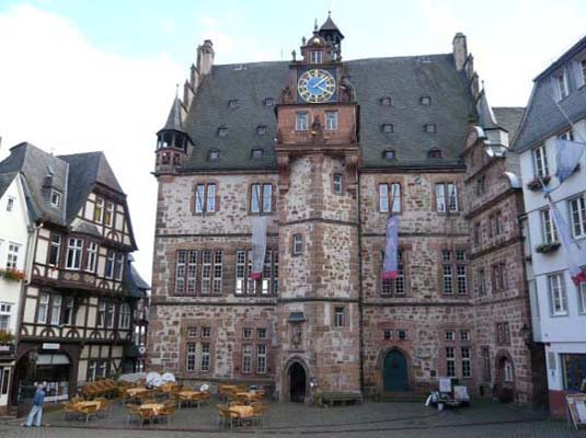 Marburg Germany solar town,german town