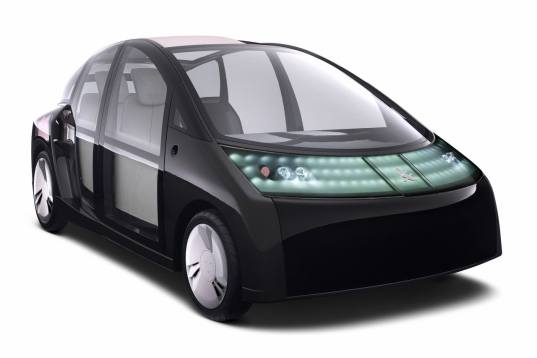 toyota, 1/x, hybrid, ultra-lightweight vehicle, lightweight car, fuel efficient car, concept car, transportation tuesday