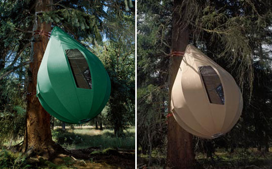 6 Suspended Tree Tents For A Lighter Than Air Camping