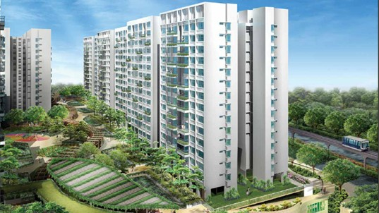 Treetops@Punggol, Singapore's First Eco-Friendly Housing Project