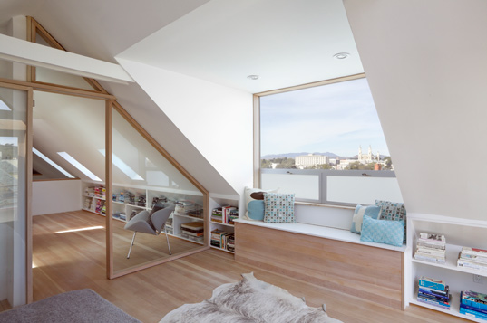 mork-ulnes design, sustainable design, renovation, clayton street residence, san francisco, green building recycled materials, salvaged materials