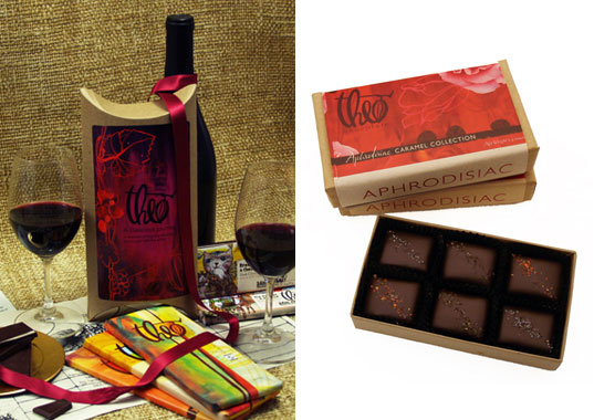 theo chocolates, organic chocolates, fair trade chocolates