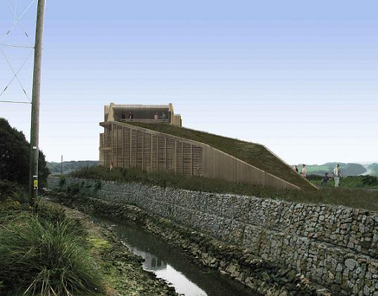bird watching, eco-tourism, ecolodge, ecotourism, Hayle estuary, sustainable architecture, green building, Hayle ecolodge
