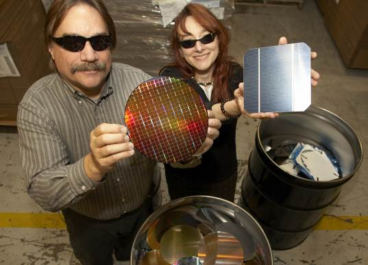 wafers, chip, electronics, solar panels, ibm, solar power, energy