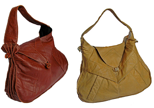 Ashley Watson, recycled, leather, handbags, sustainable style, eco-fashion, accessories, totes, wallets, Spring 2008, Murre Plover, Kaight, NYC, Kaightshop