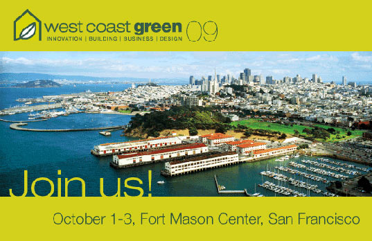 sustainable design, green design, west coast green, green building, architecture, event, conference