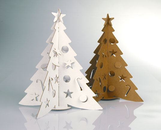 SMALL Cardboard Christmas Tree