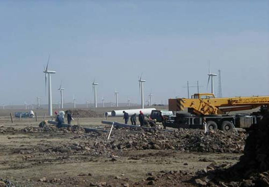 Shanghai Wind Power, Shanghai landfill goes green with wind power
