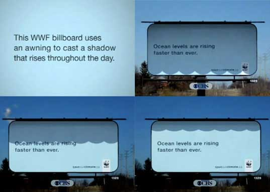WWF, World Wildlife Fund, south america, paper dispenser, rising sea levels, billboard, wwf_shadows2.jpg
