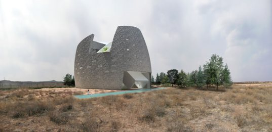 mongolia, ordos, china, architecture, design, *multiplicities, (X) for ordos 100, ordos 100, ordos100, mongolia architecture, good design, green design, green building, sustainable architecture, daylighting, passive design
