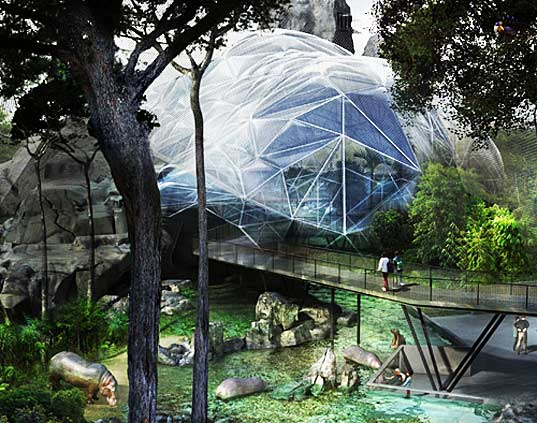 zoo, zoological park, eco zoo, sustainable zoo, solar power, france, renovation, conservation, biozones